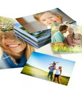 Печать фото формата 10на15
