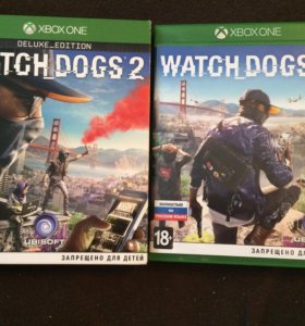 Watch Dogs 2 на Xbox one
