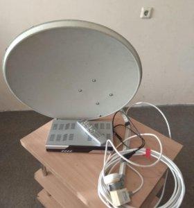 Спутниковый комплект триколор