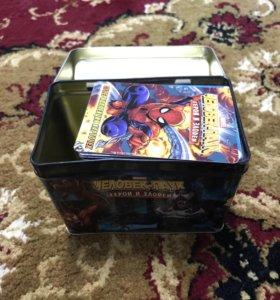 Коллекционные карточки «Человек паук»