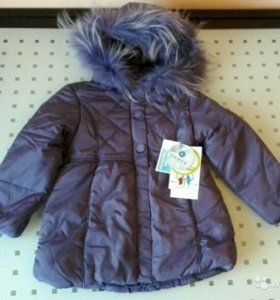 Куртка для девочки luhta Новая