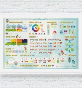 """""""Знайка"""" - Развивающий плакат для малышей"""