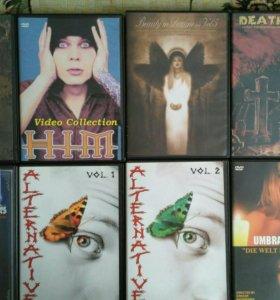 DVD с музыкальными программами.