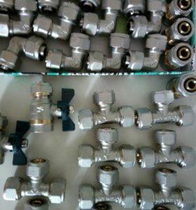 Фитинги для соединения металлополимерных труб