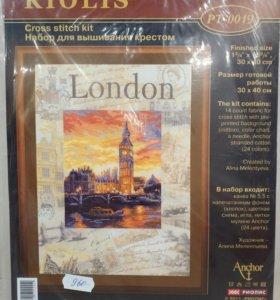 Набор для вышивания крестом London