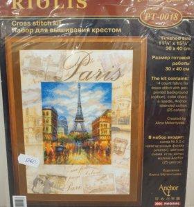 Набор для вышивания крестом Paris