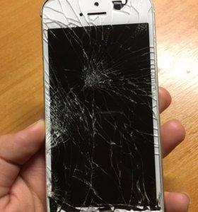 Сломанный IPHONE 5S