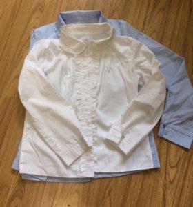 Рубашки школьные для девочки