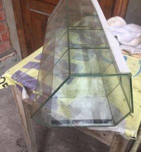 Стеклянные ящики для сыпучих продуктов