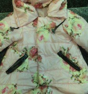 Красивая курточка для принцессы