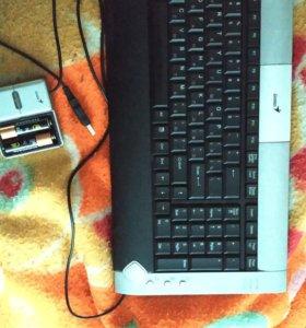 Беспроводная клавиатура Genius GK-04004/K