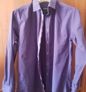 мужские рубашки пакетом (две штуки)