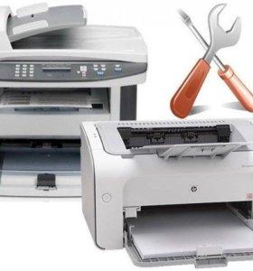 МФУ и принтеры лазерные. На запчасти.Заправка