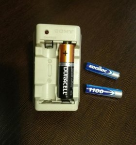 Зарядное SONY аккумуляторы АА
