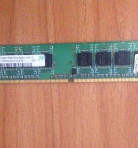 Оперативная память на 512 MB