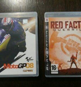 MotoGP08 и Red Faction Guerrilla на PS3