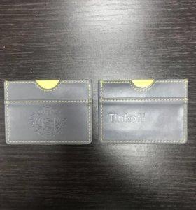 Визитница картхолдер кошелёк для денег и карт