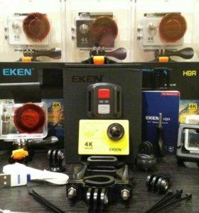 Экшн Камеры EKEN H9R WI FI с пультом за