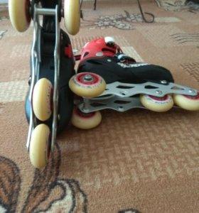 Ролики 4-х колёсные для детей