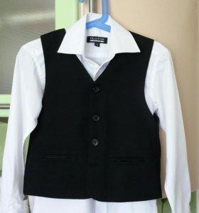 Школьный жилет и рубашки