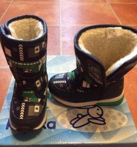 Ботинки зимние ,Фирмы капика