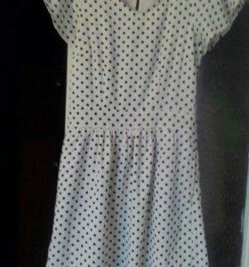 Платье( горошек)