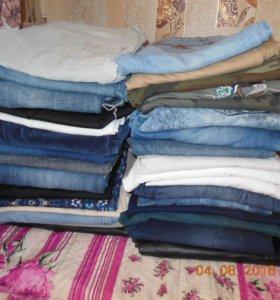 Брюки, джинсы, бриджи, шорты 44,46,48