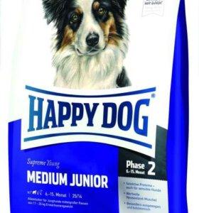 Happy Dog Medium Junior - Корм для средних пород