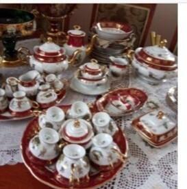 """Столовый,чайный,кофейный набор на 6персон ,""""чехия"""""""