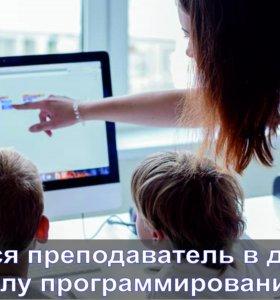 Преподаватель в школу программирования