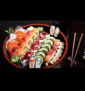 Приглашаем на работу суши-повара