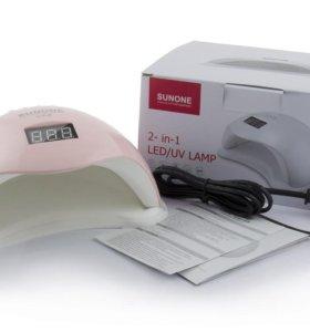 Гибридная лампа сушки для гель-лака SUN5 plus 48W