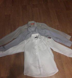 Школьные рубашки (На 10 лет)