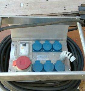 переносной электро щит для строительных объектов