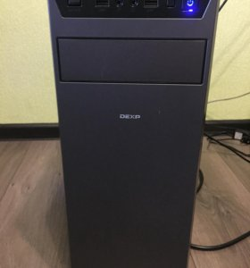 Xeon E5620, 4x2400 МГц, R7 360 2 ГБ, 8 ГБ DDR3