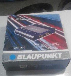 Новый автомобильный усилитель Blaupunkt GTA 270