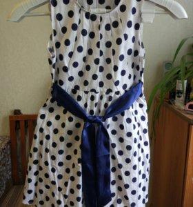 Детское платье 116-130 рост.
