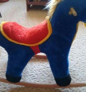 Качалка лошад