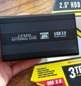 HDD Samsung 500Gb 1Тб USB 3.0 Новый!