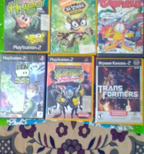 Игры на ps2 15 дисков