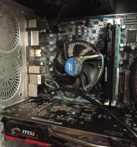Игровой компьютер i5 + GTX 1050TI 4 gb