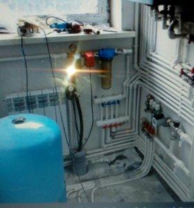 Отопление водоснабжение теплый пол