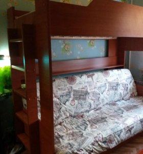 Двухъярусные кровать-диван