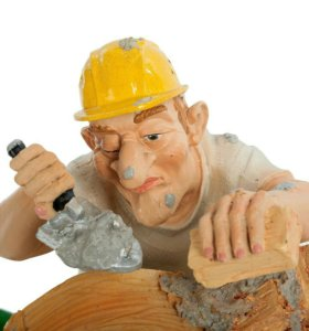 Рабочие строительных специальностей.