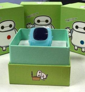 Детские часы с gps. Smart watch для родителей