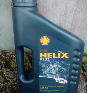 Shell Helix Plus Active 5W40 синтетика 4 л.