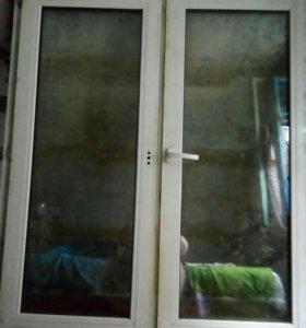 Пластиковое окно.