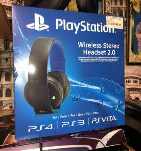 Наушники блютуз Sony для ps4
