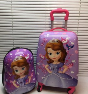 Комплект рюкзак+чемоданчик детский