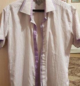 Рубашка с коротким рукавом XL 48р